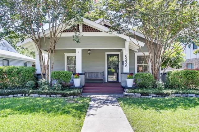 6336 Goliad Avenue, Dallas, TX 75214 (MLS #14144353) :: Robbins Real Estate Group
