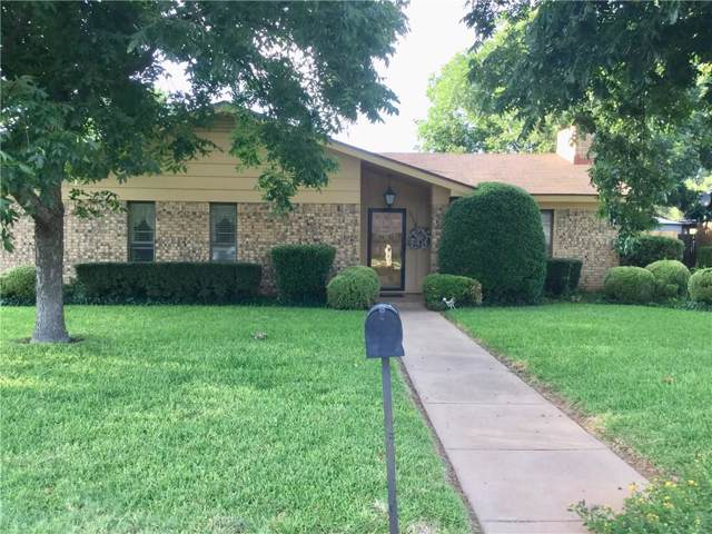 3148 Heritage Lane, Abilene, TX 79606 (MLS #14144380) :: RE/MAX Town & Country