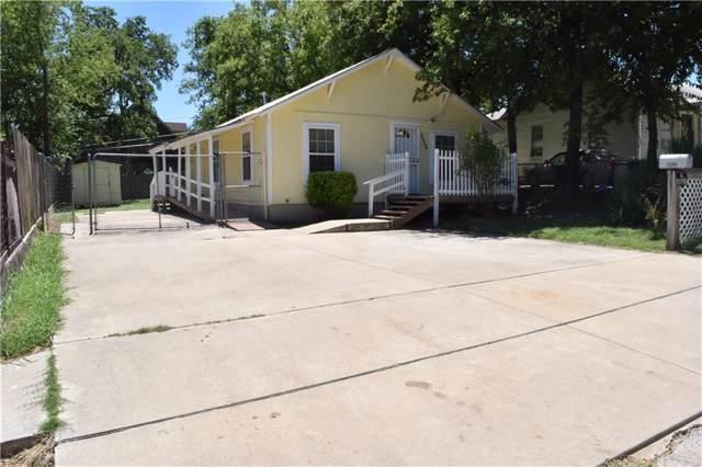 2506 Dundee Avenue, Fort Worth, TX 76106 (MLS #14144493) :: Lynn Wilson with Keller Williams DFW/Southlake