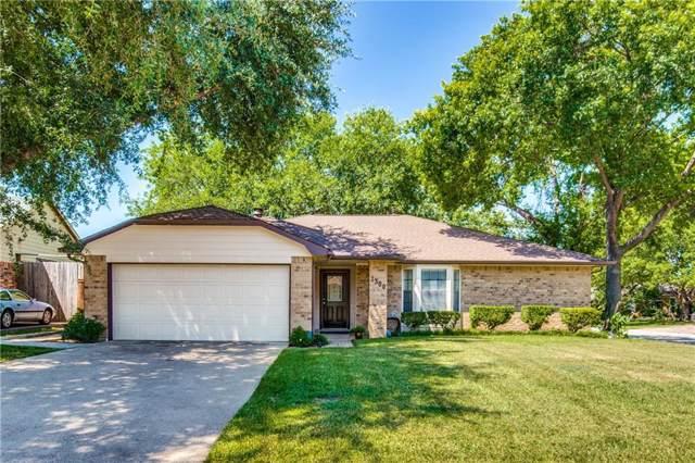 1300 Homestead Street, Flower Mound, TX 75028 (MLS #14144508) :: Team Hodnett