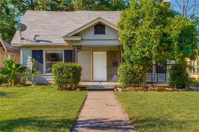 3218 Culver Street, Dallas, TX 75223 (MLS #14144555) :: Lynn Wilson with Keller Williams DFW/Southlake