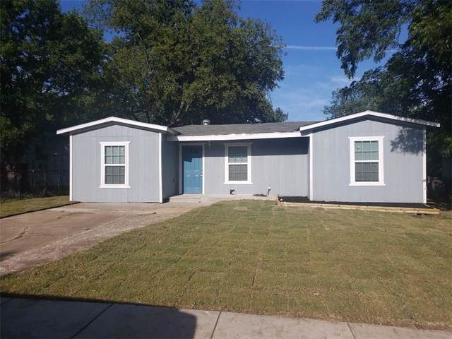 3413 Pate Drive, Fort Worth, TX 76119 (MLS #14144652) :: Lynn Wilson with Keller Williams DFW/Southlake