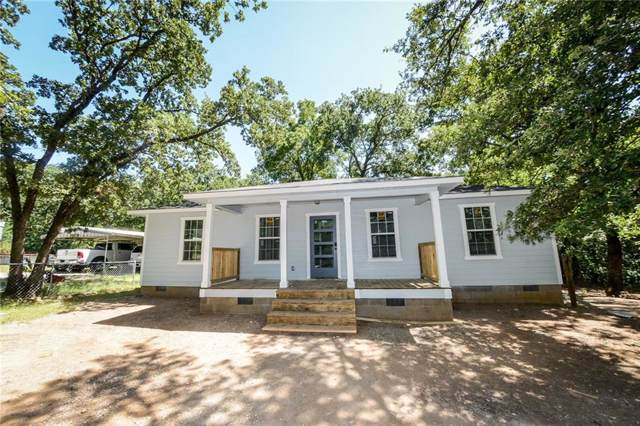 1221 Mill Creek Road, Pottsboro, TX 75076 (MLS #14144736) :: All Cities Realty