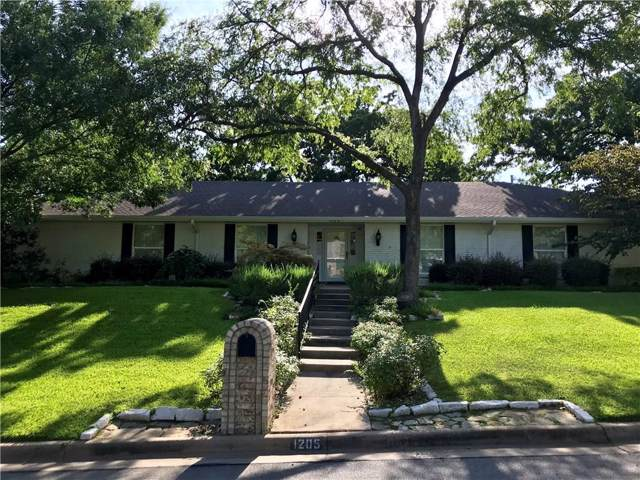 1205 Edgecliff Drive, Bedford, TX 76022 (MLS #14144796) :: Vibrant Real Estate