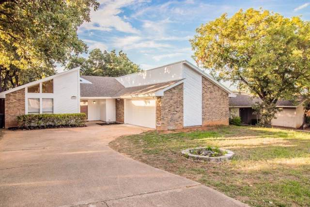 7659 Blue Carriage Court, Fort Worth, TX 76120 (MLS #14144801) :: Lynn Wilson with Keller Williams DFW/Southlake