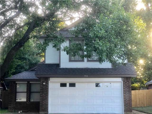 950 Boxwood Drive, Lewisville, TX 75067 (MLS #14144866) :: Vibrant Real Estate