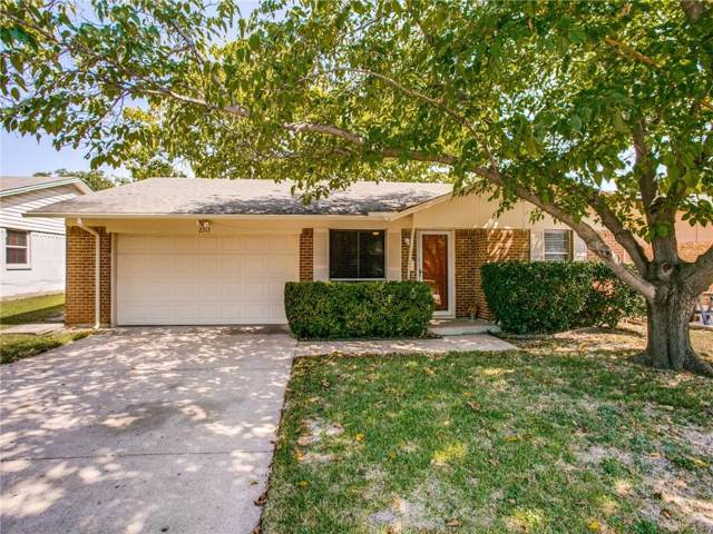 2313 Royal Drive, Garland, TX 75041 (MLS #14144917) :: Vibrant Real Estate
