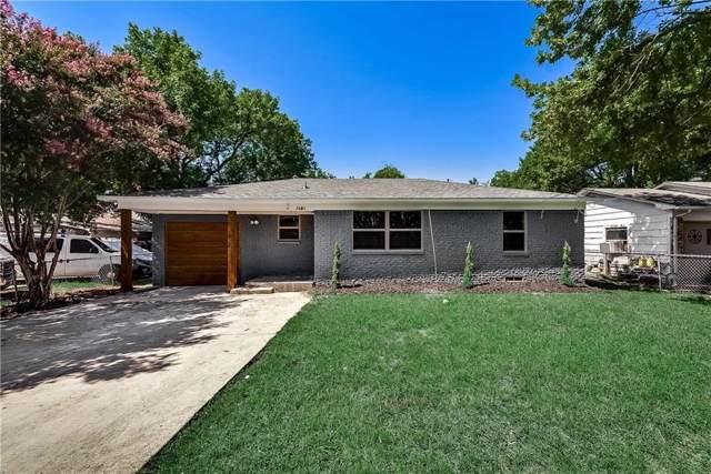7643 Rosemont Road, Dallas, TX 75217 (MLS #14144953) :: Robbins Real Estate Group
