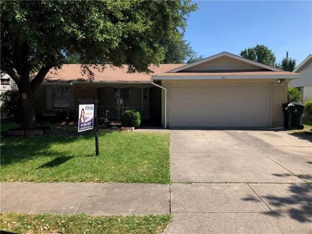 914 Greencove Drive, Garland, TX 75040 (MLS #14144982) :: Ann Carr Real Estate