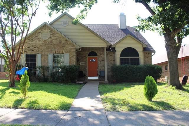 4344 Saugus Drive, Grand Prairie, TX 75052 (MLS #14144990) :: Ann Carr Real Estate