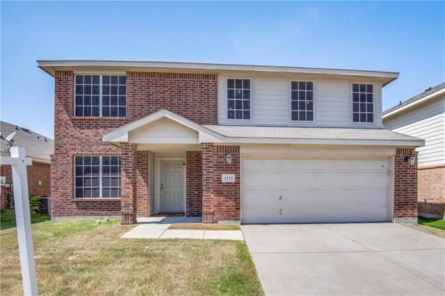 2113 Franks Street, Fort Worth, TX 76177 (MLS #14145038) :: Lynn Wilson with Keller Williams DFW/Southlake