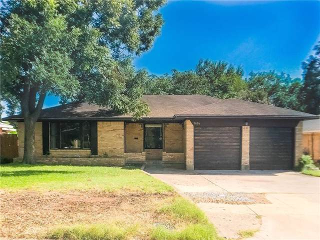 7406 Vallejo Drive, Dallas, TX 75227 (MLS #14145077) :: Lynn Wilson with Keller Williams DFW/Southlake
