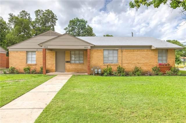 1900 Melrose St., Arlington, TX 76010 (MLS #14145112) :: Magnolia Realty