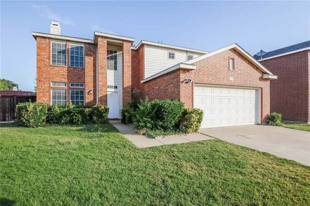 1108 Roundhouse Drive, Saginaw, TX 76131 (MLS #14145312) :: RE/MAX Town & Country