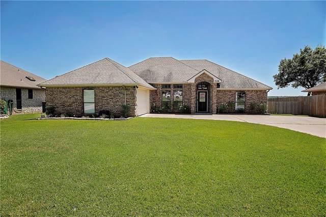 709 Aqua Vista Drive, Granbury, TX 76049 (MLS #14145392) :: Kimberly Davis & Associates