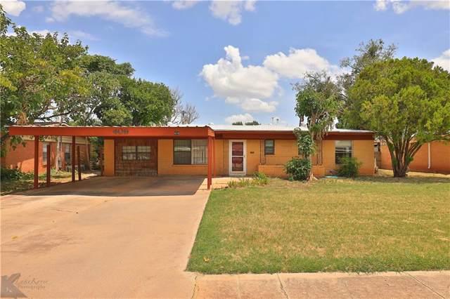 409 S Jefferson Drive, Abilene, TX 79605 (MLS #14145455) :: Magnolia Realty