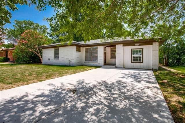 1726 Buena Vista Street, Mesquite, TX 75149 (MLS #14145515) :: Magnolia Realty