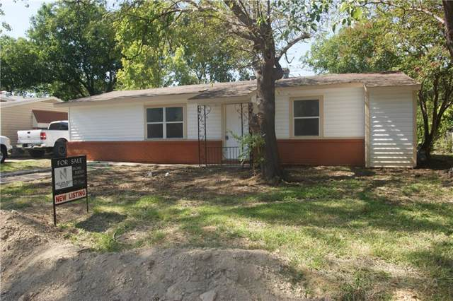 1601 E Mitchell Street, Arlington, TX 76010 (MLS #14145697) :: Magnolia Realty
