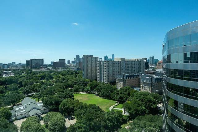 3401 Lee Parkway #1502, Dallas, TX 75219 (MLS #14145816) :: The Mitchell Group
