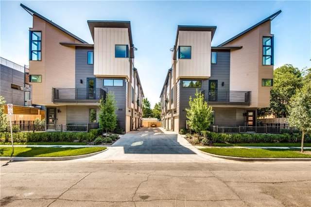6020 Hudson Street #10, Dallas, TX 75206 (MLS #14145850) :: Tenesha Lusk Realty Group