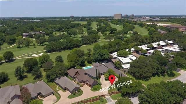 4608 Westridge Avenue, Fort Worth, TX 76116 (MLS #14145933) :: Tenesha Lusk Realty Group