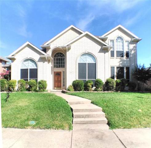 410 Saddlebrook Drive, Garland, TX 75044 (MLS #14146222) :: The Good Home Team