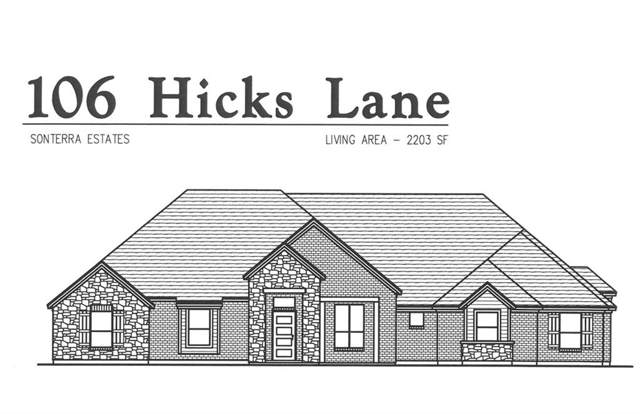106 Hicks Lane, Weatherford, TX 76088 (MLS #14146497) :: Magnolia Realty