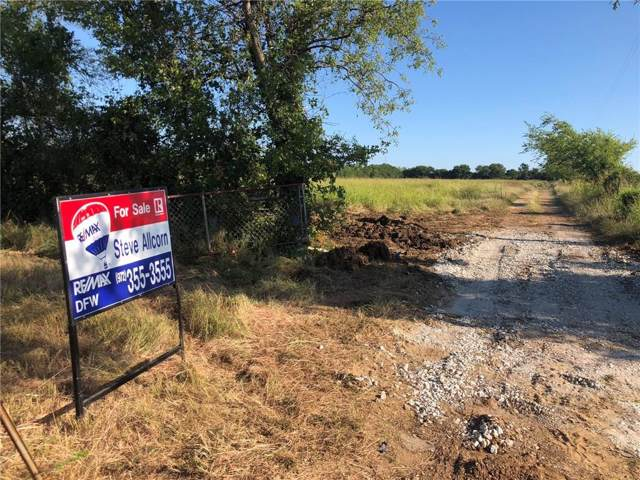 656 Milam Road, Sanger, TX 76266 (MLS #14146785) :: The Welch Team