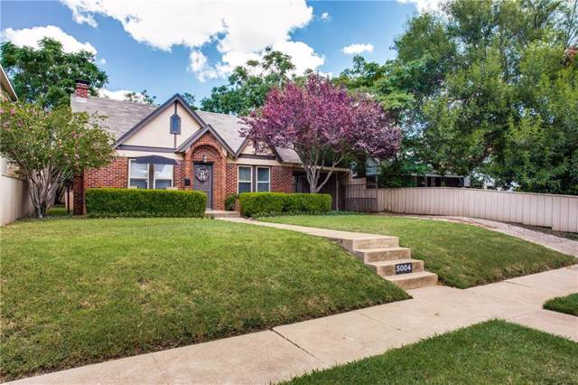 5004 Pershing Avenue, Fort Worth, TX 76107 (MLS #14146988) :: Robbins Real Estate Group