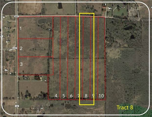 Tract 8 Cr 4062, Scurry, TX 75158 (MLS #14147077) :: The Mitchell Group