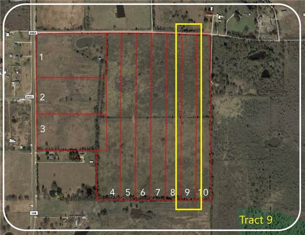 Tract 9 Cr 4062, Scurry, TX 75158 (MLS #14147080) :: The Mitchell Group