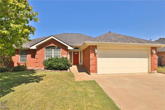 4009 Georgetown Drive, Abilene, TX 79602 (MLS #14147150) :: The Chad Smith Team