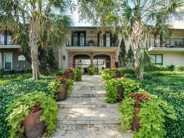 5816 Birchbrook Drive #119, Dallas, TX 75206 (MLS #14147254) :: Robbins Real Estate Group