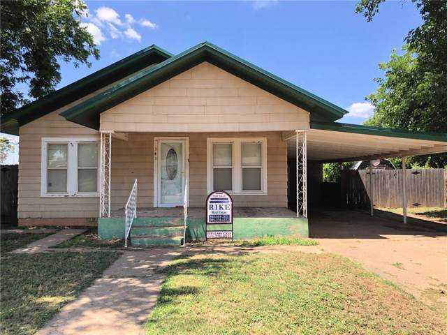 341 W H Street, Munday, TX 76371 (MLS #14147280) :: RE/MAX Town & Country