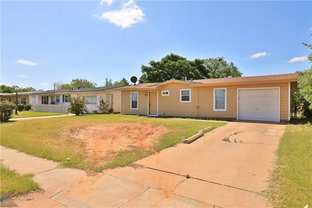 5289 S 7th, Abilene, TX 79605 (MLS #14147589) :: The Mitchell Group