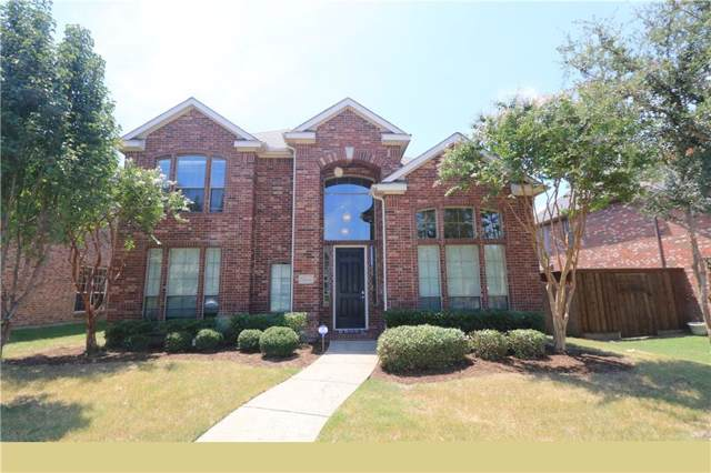11619 Gatesville Drive, Frisco, TX 75035 (MLS #14148911) :: All Cities Realty