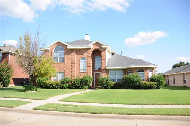 1404 Lombardy Way, Allen, TX 75002 (MLS #14149352) :: Frankie Arthur Real Estate