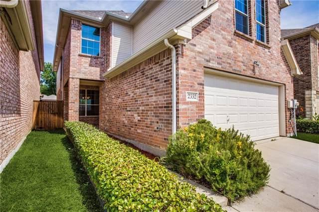 2332 Janna Way, Carrollton, TX 75006 (MLS #14149700) :: The Good Home Team
