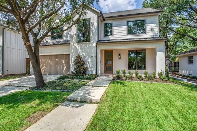 3859 Van Ness Lane, Dallas, TX 75220 (MLS #14149866) :: The Mitchell Group