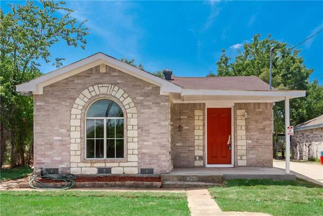 3410 Toronto Street, Dallas, TX 75212 (MLS #14150080) :: Frankie Arthur Real Estate