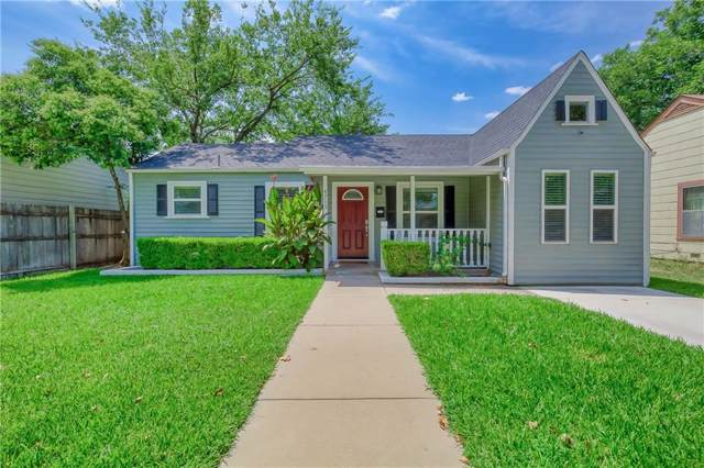 4713 Calmont Avenue, Fort Worth, TX 76107 (MLS #14150265) :: Robbins Real Estate Group