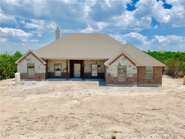 167 Cedar Mountain Drive, Weatherford, TX 76085 (MLS #14150299) :: The Chad Smith Team