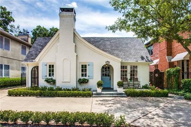 3703 Granada Avenue, University Park, TX 75205 (MLS #14150337) :: Robbins Real Estate Group