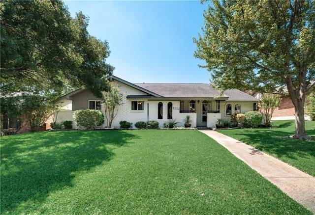 9552 Millridge Drive, Dallas, TX 75243 (MLS #14150414) :: Hargrove Realty Group