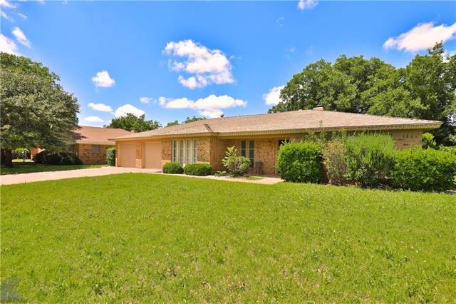 2918 Robertson Drive, Abilene, TX 79606 (MLS #14150622) :: Frankie Arthur Real Estate