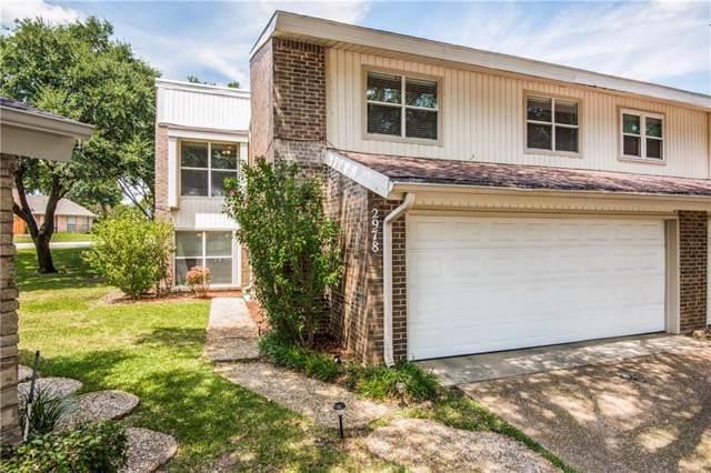 2978 Buttonwood Drive, Carrollton, TX 75006 (MLS #14150658) :: Lynn Wilson with Keller Williams DFW/Southlake