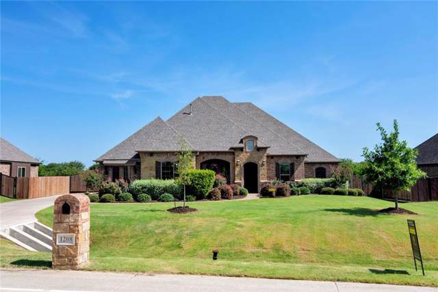 1208 Bluff Springs Drive, Fort Worth, TX 76052 (MLS #14150864) :: Hargrove Realty Group