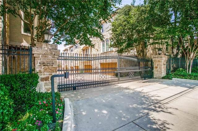 3907 Cole Avenue #10, Dallas, TX 75204 (MLS #14151189) :: RE/MAX Town & Country