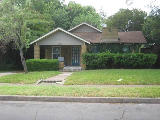 2446 Emmett Street, Dallas, TX 75211 (MLS #14151215) :: The Star Team | JP & Associates Realtors