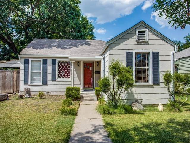 3912 Calmont Avenue, Fort Worth, TX 76107 (MLS #14151217) :: The Mitchell Group